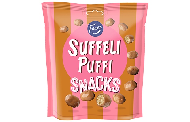 Suffeli Puffi Snacks 180 g