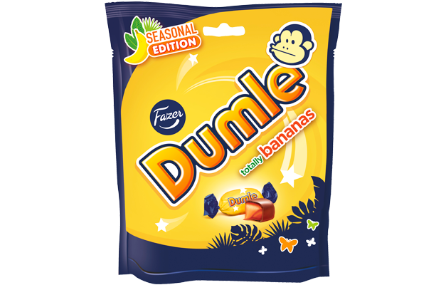 Dumle Seasonal 220 g Banana Summer Edition