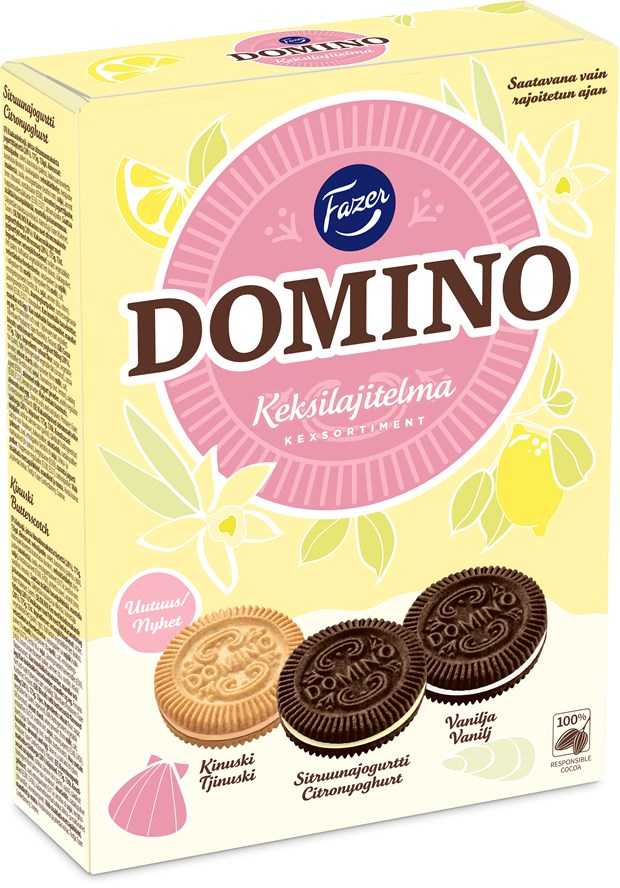 Domino Kex sortiment 525 g