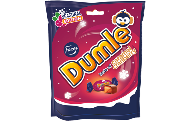 Dumle Seasonal 220 g Caramel Cranberry